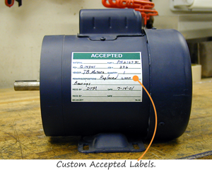 Custom Accepted Labels