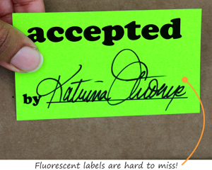 Fluorescent Accepted Labels