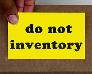Fluorescent Do Not Inventory Labels