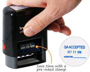 QA Accepted Stamp