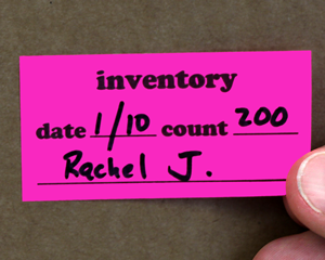 Inventory Labels
