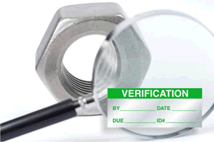 Verification Labels