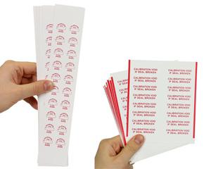 Void Calibration Labels