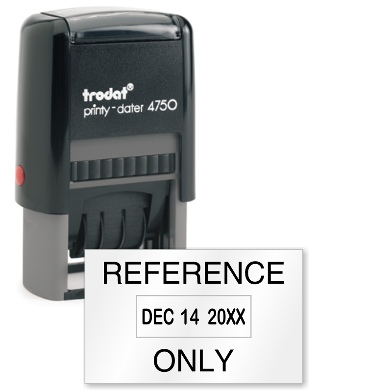 Inspection And QC Self Inking Stamp Reference Only