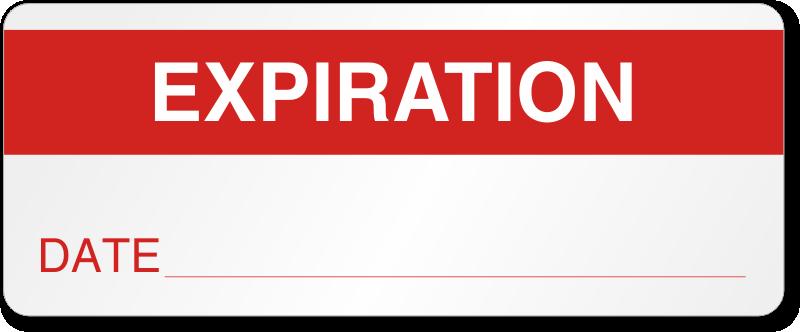 Expiration Date Labels