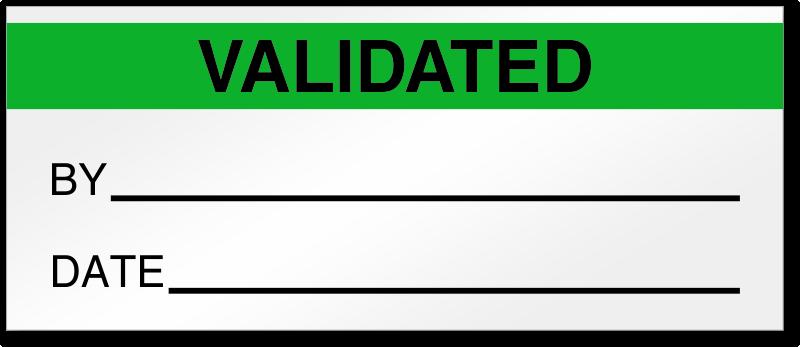 Icon validation stock illustration. Illustration of design - 32265559
