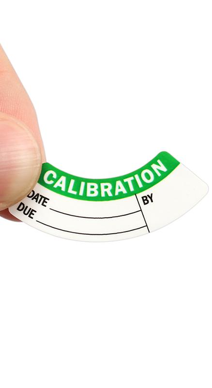 Write On Calibration Labels Micrometer Calibration Labels