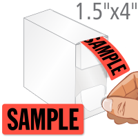 Sample Label Dispenser Box