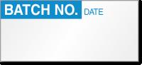 Batch No. Calibration Label