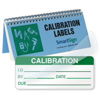 Calibration Book: ID#/By/Date/Due - Green