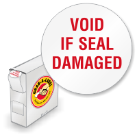 Void If Seal Damaged, 3/4