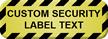 Create Tamper Proof Security Seal Label