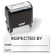 Inspected By Self Inking Stamp