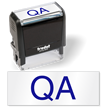 QA Self Inked Stamp