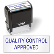 Quality control Approved Self Inking Stamp