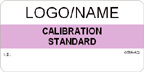 Calibration Standard Label [add name or logo]
