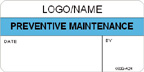 Preventive Maintenance Label [add name or logo]