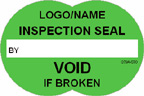 Inspection Seal - Void if Broken Label