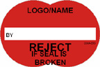 Reject if Seal is Broken Label