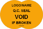 Q.C. Seal - Void if Broken Label