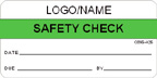 Safety Check Label [add name or logo]