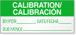 Bilingual Calibration Calibrated Label