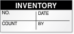 Inventory No. Date, Count, By Label