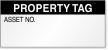 Property Tag Calibration Label