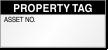 Property Tag Calibration Label