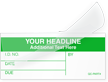 Custom Self-Laminating Calibration Label - Add Headline, Text