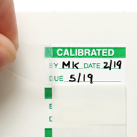 Calibrated: By/Date/Due Label