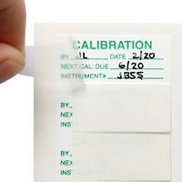 CALIBRATION INSTRUMENT Labels