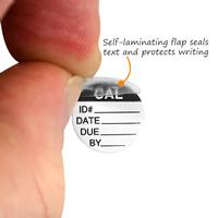 Mini calibration labels