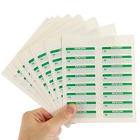½' x 2' Calibration Status Labels